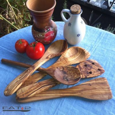 Service de 5 pièces, cuillères et spatules