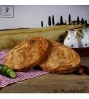 Planche à découper en bois d'oliviers, ovale
