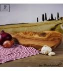 Planche avec manche , forme naturel parfaite pour fromage et jambon