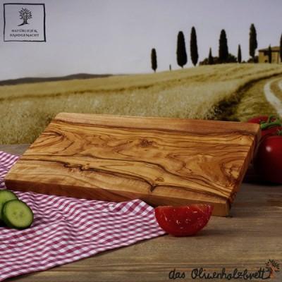 Planche a decouper bois d'olivier, rectangulaire