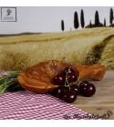 Petit bol Bois d'olivier, forme naturelle et unique, avec manche