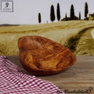 Petit bol Bois d'olivier, sous forme de cœur